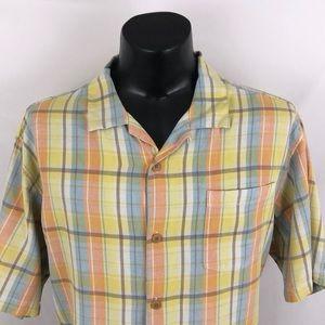 Tommy Bahama Original Fit Button Up Camp Shirt XL